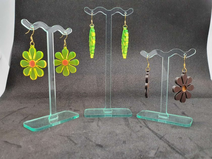 Earring stand set of 3 2
