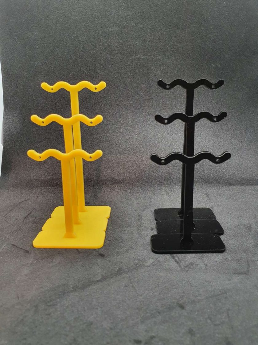 Earring stand set of 3 3
