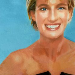 Diana portrait in THAT  black dress