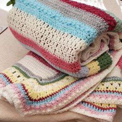 Handmade - Colours of Sherbet Blanket
