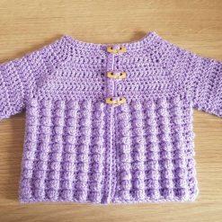 0-3 months Baby Crochet Jacket