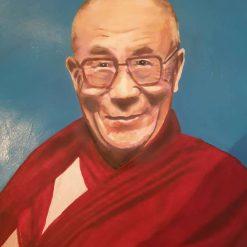 His holiness The dalai llama