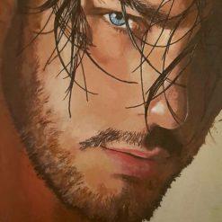 Blue eyed guy