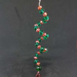 Wire Wrapped Chakra Necklace - N63
