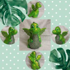 Danny, baby dragon ceramic money box