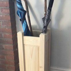 Umbrella and walking stick stand