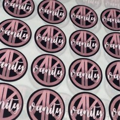Personalised Gloss Labels Stickers - Any shape/size print your logo
