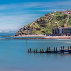 16x10 Panorama print titled - The beauty of Aberystwyth.