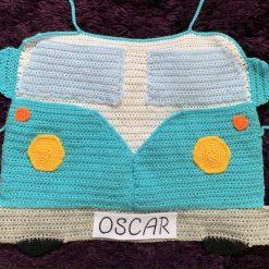 Crochet Camper Van Organiser