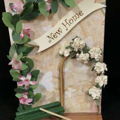 New Home Card ...Garden Arch