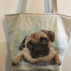 Tote Bag, Pug
