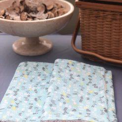 Baby Dribble Cloth - Reusable  Cloth - Baby Feeding  Cloth ABC
