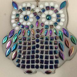 Beautiful mosaic owl