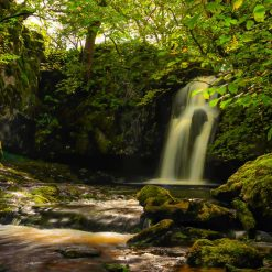 16x10 print of Gastack Beck Waterfall. North Yorkshire