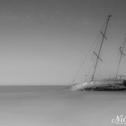 Run aground at Lytham St Anne's