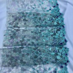 Aquamarine and Amethyst Bra Lace