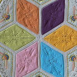 Ubuntu hexagon blanket/throw
