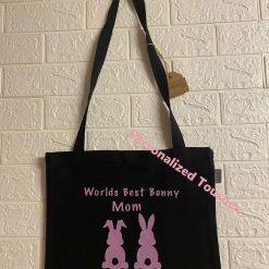 Bunny Mom Tote Bag