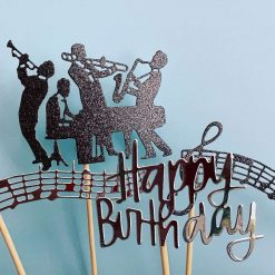 Jazz Pack Cake Toppers