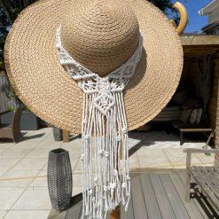 Boho festival hat