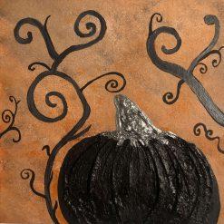 Pumpkin Canvas (Black Pumpkin)