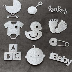 10pk Cupcake toppers for New baby/ baby showers