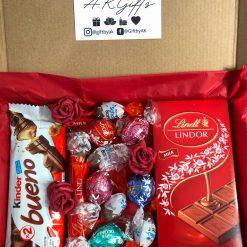 Hug in a box/gift box/letterbox gift/chocolate lover gift hamper/new mum gift/birthday hamper