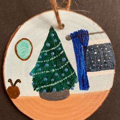 Christmas Tree (Blue) A