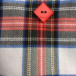 Handmade Stewart dress tartan bag 2