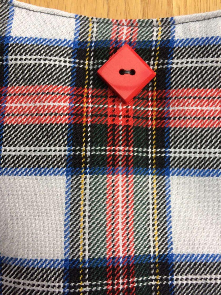 Handmade Stewart dress tartan bag