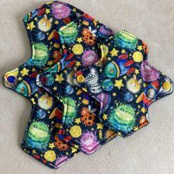 Aliens bundle Cloth Menstrual Pads moderate/regular flow