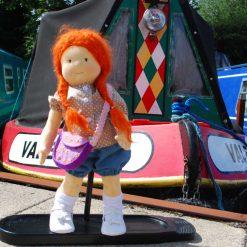 waldorf type doll - 20 inches - Annie