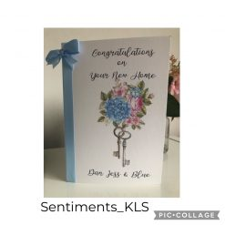 Personalised New Home Card £3.75