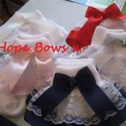 Frilly socks pairs  newborn