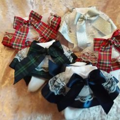 5 pairs of frilly socks 6.5-8.5