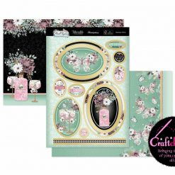 Hunkydory - A Fabulous Finishes - Floral Elegance - Flutterbye Wishes - Luxury Topper Set