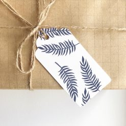 Any Occasion Fern Leaf Print Gift Tags (set of 4)