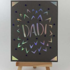Fireworks Father's Day Card - Limited Edition