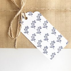 Any Occasion Floral Print Gift Tags (set of 4)