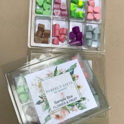 Flower & Fruit Wax Melt Sample Box