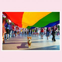 George's Card - Parade of Pride - A5 card