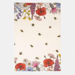 Wildflower Border - Tea Towel