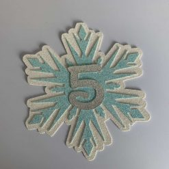 Snowflake Cake Topper with age