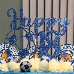 Football Happy (age) Cake Topper
