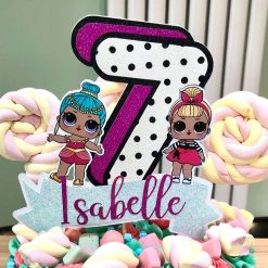 Personalised LOL Doll Inspired Cake Topper (unofficial)