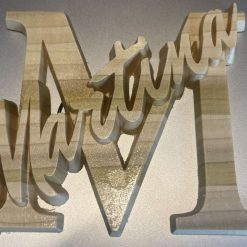 Personalised Letter name sign
