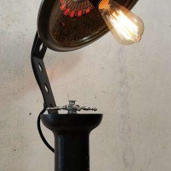 Vintage Roulette Wheel Lamp.