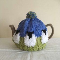 Sheep Tea Cosy - Hand Knit in Merino Wool - for 6 cup pot