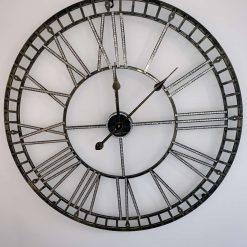 70cm Metallic Crystal Wall Clock