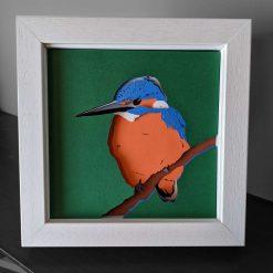 Robin Layered Card Art
